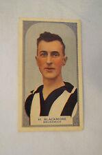 BRUNSWICK CHAMPION - H. Blackmore - Vintage 1933 Hoadleys Card - 100 Series.