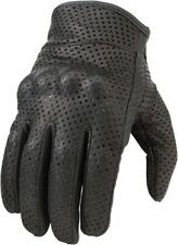 Z1R Men's 270 Perforated Leather Motorcycle Riding Gloves