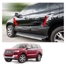 Side Doors Guards Body Molding Matte Black Fits Ford Everest Suv 2015 2018