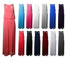 Jersey Plus Size Maxi Dresses for Women