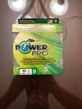NEW Power Pro Spectra Braid Fishing Line 80 lb Test 500 Yards Moss Green