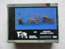 Verlinden Productions 1013 Workshop machines and tools in 1:35 scale