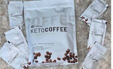 It Works New And Improved Keto Coffee 5 Single Packets.New