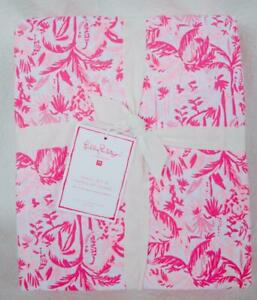 Pottery Barn Teen 1 Lilly Pulitzer In Swing Of Things FULL Sheet Set NWT Pink