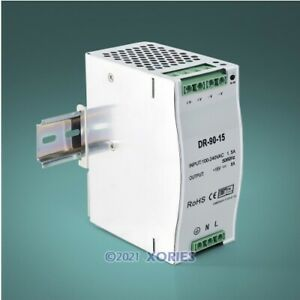Security Power Supply Din Rail 15V 6A For Access Control Entry System