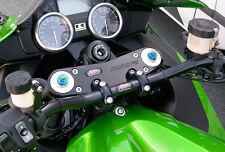 ABM Superbike Handlebars MODIFICATION KIT COMPLETE KAWASAKI ZZR 1400 zxt40e with