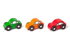 Car Set - Compatible with Brio & Thomas - Wooden Train Set Accessories