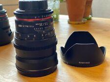 Samyang 35mm T1.5 VDSLR Cine (TOURNAGE VIDEO) OBJECTIFS Nikon