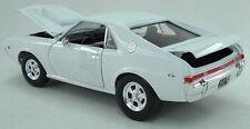 1969 AMX HURST Super Stock WHITE 1:18 Auto World 979