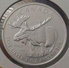 2012 Canada $5 Moose 999 Silver 1 oz Coin One Ounce bullion Five Dollars
