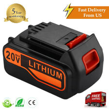New Black & Decker 20V Max 4.0 Ah Li-Ion Slide Battery LB2X4020-OPE LB20 LBX20
