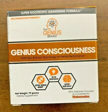 Genius Consciousness Super Nootropic Brain Booster Supplement NEW Free Shipping
