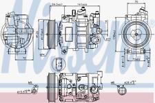 Kompressor Klimaanlage - Nissens 89415