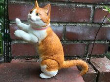 """Companion Posable Orange Jointed Kitty Cat Doll For Your BJD Doll MSD 17"""" To 20"""""""