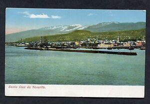 C1920's View of Santa Cruz Harbour, Tenerife.