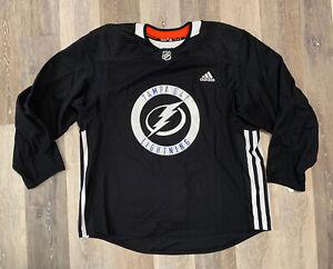 Men's Tampa Bay Lightning Adidas Pro Practice Jersey NHL Size 56 CR3721 NWT RARE