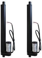 """2 pcs Two Piece 12"""" 12 Inch Linear Actuator 225 Lb Pound Lift 12V Volt DC"""