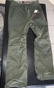 Thirty TWO Snowboard Pants - Military Green - Men's XL