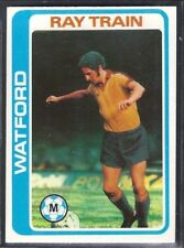 TOPPS-FOOTBALL (PALE BLUE BACK 1979)-#349- WATFORD - RAY TRAIN