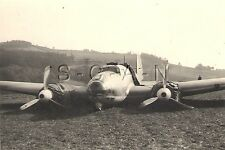 WWII Ger Large RP- Luftwaffe or Crashed Allied Airplane- Down for the Count- 40s