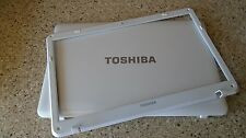 "GENUINE:TOSHIBA SATELLITE L655D   15.6"" LCD Back Cover & BESEL ZYE33BL6LC00100"