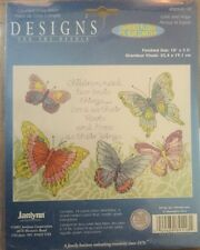 2005 JANLYNN COUNTED CROSS STITCH DESIGNS FOR THE NEEDLE LOVE AND HOPE #089-0118