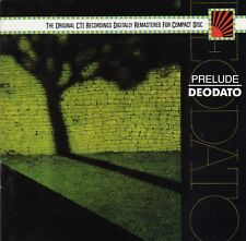 DEODATO - PRELUDE CD ORIGINAL US RELEASE MADE IN JAPAN. SEALED 0746440695-2