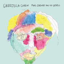 Gabriella Cohen - Full Closure & No Details [New CD]