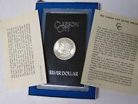 GSA 1880-CC Morgan Silver Dollar 8/7 High Overdate Carson City Mint (m.rm)
