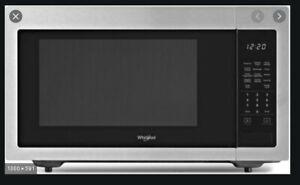 WHIRLPOOL WMC30516HZ 1.6 CF. 1200W Fingerprint-Resistance Stainless SS Microwave