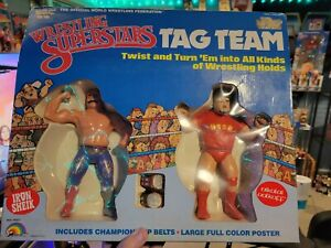 WWF LJN Iron Sheik Nikolai Volkoff Tag Team Set