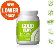 Good Hemp Protein Powder Natural 500g Raw, green protein powder