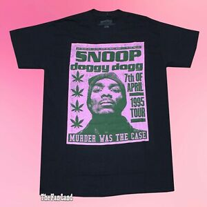 New Snoop Dogg Dog Murder was the case 1995 Tour Vintage Mens T-Shirt