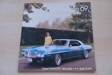 216127) Pontiac Firebird - GTO - Buick Skylark Prospekt 12/1968