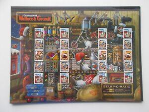 2010 Christmas Wallace & Gromit Smiler Sheet LS75 - Superb U/M - Great Price