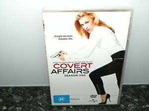 COVERT AFFAIRS - SEASON ONE 1  - DVD -  (3 Disc Set) - Region 4 - VGC