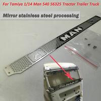 1x Metall-Explosionsschutzgitter für Tamiya 1/14 Man 540 56325 Sattelzugmaschine