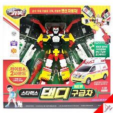 Hello Carbot DANDY RESCUE Hyundai Starex Ambulance Transformer Robot Car Toy