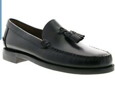 Sebago Classic Will Citysides Mens Black Leather Dress Loafers Shoes 16