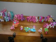 HUGE Lot of My Little Pony Medium to Mini Horses & Accessories – includes 21
