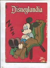 DISNEYLANDIA #279 PATO DONALD! FOREIGN COMIC! (2.0) 1962