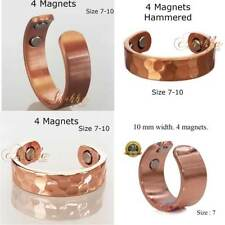 MAX THERAPY 4 STRONG MAGNETIC COPPER RING MEN WOMEN ARTHRITIS 3000 Gauss C01V