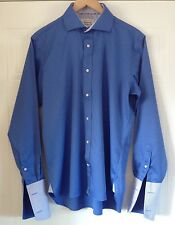 Beautiful Ted Baker Endurance - Double Cuff Shirt - Size 16 - 44 Inch Chest