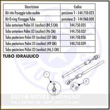 POLINI 144.750.037 TUBO FRENO ANTERIORE X3-X5