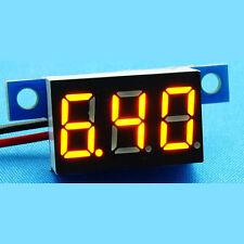DC 3.3-17V LED Digital Voltage Monitor Panel Meter 5v 9v 12v Car Moto Battery Y