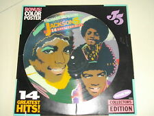 MICHAEL JACKSON and THE JACKSON 5...PICTURE DISC 33T LP...14 GREATEST HITS...