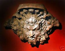 Dionysus Bacchus Roman Greek Goddes stone bracket sconces wall home garden art