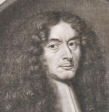 Portrait de PETRUS ROVILLE LIBELLO Picardie par Landry Pierre 1673 gravure