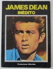 JAMES DEAN INÉDITO 1976 Spain vintage book +100 photos Libro Español cinema