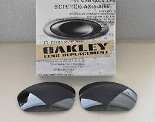 New 100% Authentic Oakley Straight Jacket Sunglasses Black Iridium Lens